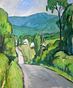 Abstract Realist Landscape Art - Summer in the Berkshires by Thor Wickstrom