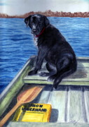 Rowboat Pastels - Summer by Kathleen Kelly Thompson