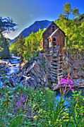 Crested Butte Framed Prints - Summer Mill Framed Print by Scott Mahon