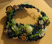 Black Jewelry - Summer Night Enchantment  by Annette Tomek