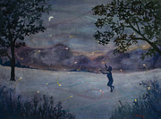 Music Score Paintings - Summer Nights Passing by Ruth Bailey