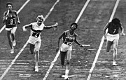 Footrace Photo Prints - Summer Olympics, 1960 Print by Granger
