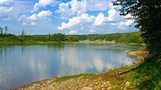 Rivers Photos - Summer on the North Saskatchewan River by Jim Sauchyn