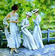 Summer Dresses Paintings - Summer Past by Jim Horton