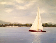 Marx Paintings - Summer Sailing by Christine Marx