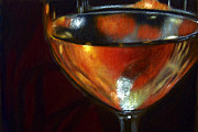 Wine Glass Pastels - Summer Sipper by D Rogale