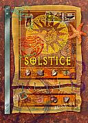Stamps Digital Art - Summer Solstice by Ernestine Grindal
