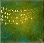 Youthful Painting Metal Prints - Summer Song Metal Print by Lisa Stevens
