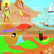 Rogers Beach Prints - Summer Song Print by Michael Durst