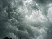 Summer Storm Clouds Print by Marian Hebert