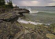 Storm Digital Art Originals - Summer Storm on Manitoulin Island by John Kurczak
