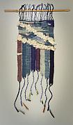 Clouds Tapestries - Textiles Originals - Summer Storn by Jean Fortune Kaplan