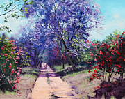 Www.landscape.com Paintings - Summer Stroll by Graham Gercken