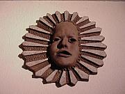 Asian Ceramics - Summer sun disk by David Morgan