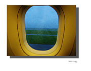 Xoanxo Cespon Framed Prints - Summer Taxiing Framed Print by Xoanxo Cespon
