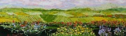 Interior Design Painting Posters - Summer Valley Poster by Allan P Friedlander