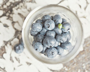 Blueberry Prints - Summers Best Print by Lisa Russo