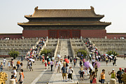 Forbidden City Prints - Summertime Crowds, Forbidden City, Dongcheng Print by Lonely Planet