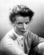 1950s Portraits Photos - Summertime, Katharine Hepburn, 1955 by Everett