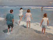 Summertime Print by Rachel Hames