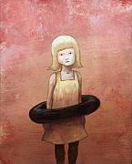 Little Girl Metal Prints - Summertime Rulz Metal Print by Ethan Harris