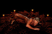 Gay Digital Art - Summoning an Incubus by Michael Taggart