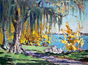 Falls Paintings - Sun Again by Ylli Haruni