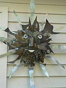 Featured Sculpture Originals - Sun Burst by Todd Timler