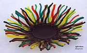 Sun Glass Art Originals - Sun by Isaac Richter