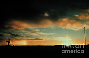 Service Dog Prints - Sun Pillar And Parhelion Print by Science Source