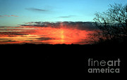 Asheville Posters - Sun Pillar Poster by Science Source