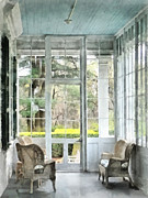 Sun Porches Photos - Sun Porch by Susan Savad