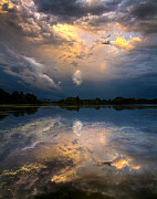 Summer Storm Prints - Sun Risen Reflections Print by Phil Koch