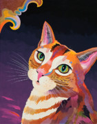 Feline Paintings - Sun Shine by Bob Coonts