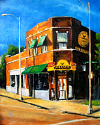 And Jerry Lee Lewis Prints - Sun Studio - Day Print by Robert Reeves