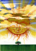 Artist Mixed Media - Sun1 by Anthony Burks