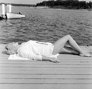 Sunbather Print by Jacobsen