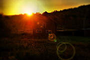Adirondacks Photo Posters - Sunburst Barn  Poster by Emily Stauring