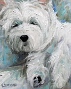 Pets Art - Sunday Afternoon by Mary Sparrow Smith