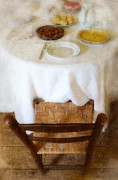 Table Cloth Photos - Sunday Dinner by Jill Battaglia