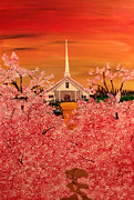 Christian Artwork Paintings - Sunday Morning by Mark Moore