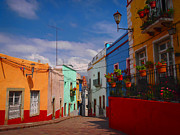 Guanajuato Art - Sunday Stroller by Skip Hunt