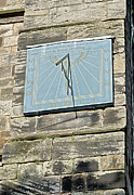 United Kingdom Prints - Sundial on St Marys Church - Tutbury Print by Rod Johnson