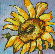 Sunflower Paintings - Sunflower 4 by Sandy Tracey