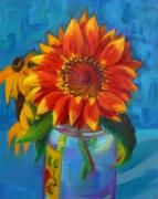 Ruth Sievers - Sunflower and Rudbeckia
