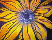 Sarasota Artist Mixed Media - Sunflower by Anita Wexler