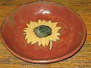 Dakota Ceramics - Sunflower Bowl by Tamara Lauder