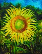 Etc. Paintings - Sunflower by Brandi  Hickman