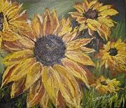 Cynthia Langford - Sunflower Burst