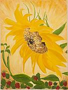 Strawberry Originals - Sunflower Garden by Julie Kreutzer
